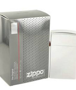 ZIPPO ZIPPO SILVER REFILLABLE EDT FOR MEN