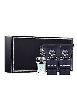 VERSACE POUR HOMME MINIATURE 3 PIECES TRAVEL GIFT SET