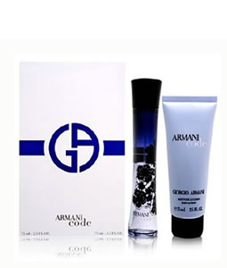 GIORGIO ARMANI ARMANI CODE EDP MINIATURE 2 PIECES TRAVEL GIFT SET FOR WOMEN