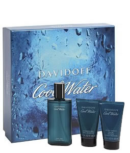 DAVIDOFF COOL WATER 3 PCS GIFT SET FOR MEN