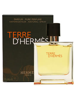 HERMES TERRE D'HERMES PURE PERFUME PARFUM FOR MEN