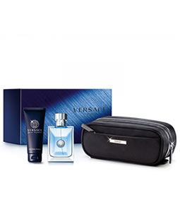 VERSACE POUR HOMME 3 PCS GIFT SET FOR MEN