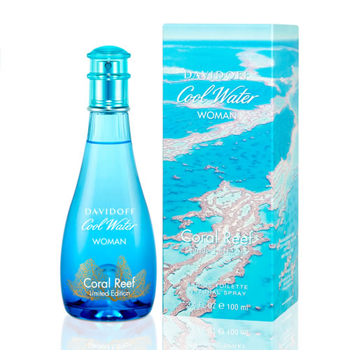 DAVIDOFF COOL WATER CORAL REEF LIMITED EDITION EDT FOR WOMEN