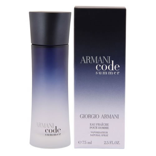 GIORGIO ARMANI CODE SUMMER EAU FRAICHE EDT FOR MEN