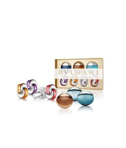 BVLGARI ICONIC MINIATURE COLLECTION GIFT SET FOR MEN AND WOMEN