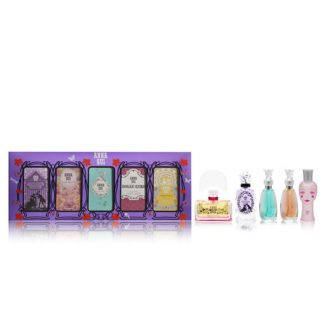 ANNA SUI MINIATURE COLLECTION 5 PCS MINIATURE GIFT SET FOR WOMEN