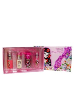 CHRISTIAN AUDIGIER ED HARDY 4 PCS MINIATURE GIFT SET FOR WOMEN