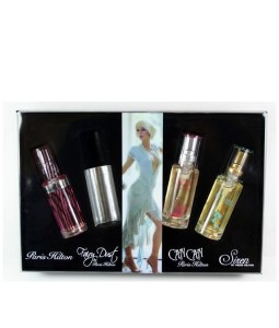 PARIS HILTON 4 PCS TRAVEL GIFT SET FOR WOMEN