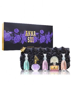 ANNA SUI MINIATURE CLUTCH COLLECTION MINIATURE GIFT SET FOR WOMEN