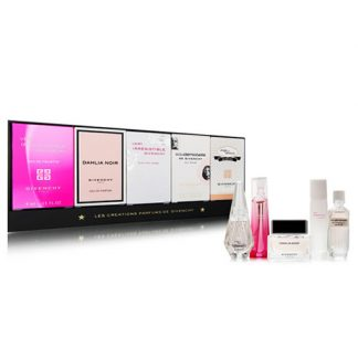 GIVENCHY LES CREATIONS PARFUMS DE GIVENCHY 5 PCS MINIATURE GIFT SET FOR WOMEN