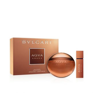 BVLGARI AQVA AMARA 2 PCS GIFT SET FOR MEN