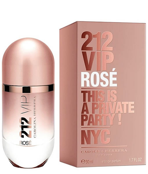 CAROLINA HERRERA 212 VIP ROSE EDP FOR WOMEN