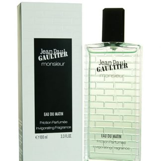JEAN PAUL GAULTIER JPG MONSIEUR EAU DU MATIN FRICTION PARFUMEE INVIGORATING FRAGRANCE FOR MEN