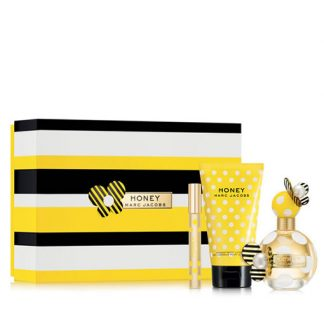 MARC JACOBS HONEY 3 PCS GIFT SET FOR WOMEN
