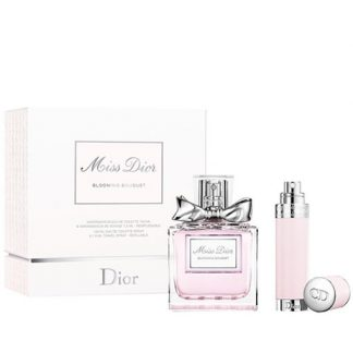CHRISTIAN DIOR MISS DIOR BLOOMING BOUQUET 2 PCS TRAVEL SET FOR WOMEN