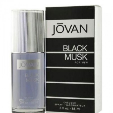 JOVAN BLACK MUSK COLOGNE EDC FOR MEN