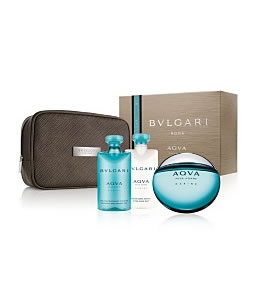 BVLGARI ROMA AQVA POUR HOMME GIFT SET FOR MEN