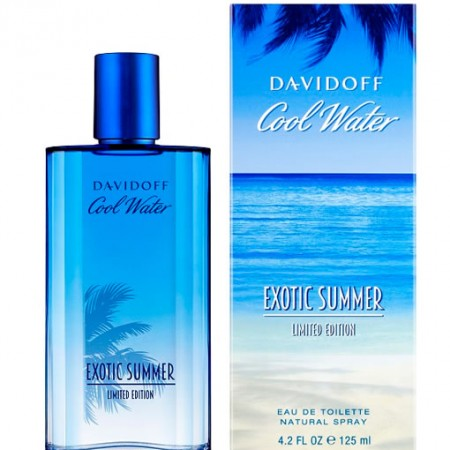 DAVIDOFF COOL WATER EXOTIC SUMMER LIMITED EDITION EDT FOR MEN