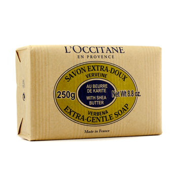 L'OCCITANE SHEA BUTTER EXTRA GENTLE SOAP - VERBENA 250G/8.8OZ