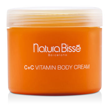 NATURA BISSE C+C VITAMIN BODY CREAM 500ML/17OZ