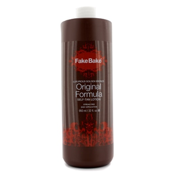 FAKE BAKE ORIGINAL FORMULA SELF-TAN LOTION (SALON SIZE) 950ML/32OZ