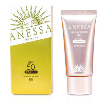SHISEIDO ANESSA FACE SUNSCREEN BB NATURAL SPF 50+ PA+++ 30G/1OZ