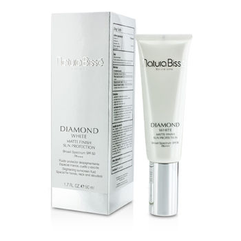 NATURA BISSE DIAMOND WHITE MATTE FINISH SUN PROTECTION SPF 50 (SPECIAL FOR HANDS, NECK & DECOLLETE) 50ML/1.7OZ