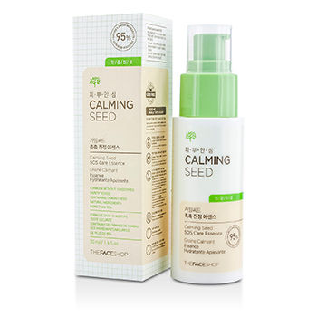 THE FACE SHOP CALMING SEED SOS CARE ESSENCE (FOR SENSITIVE SKIN) 50ML/1.6OZ