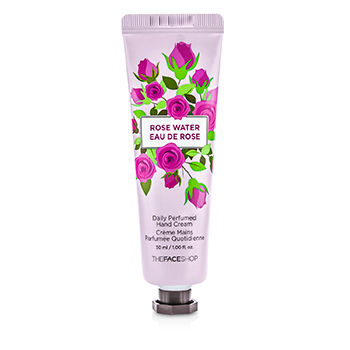 THE FACE SHOP DAILY PERFUMED HAND CREAM - #01 ROSE WATER 30ML/1OZ