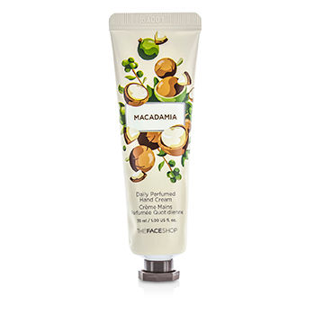THE FACE SHOP DAILY PERFUMED HAND CREAM - #07 MACADAMIA 30ML/1OZ
