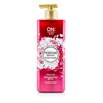 ON THE BODY PERFUME SHOWER BODY WASH - CLASSIC PINK 500G/17.6OZ
