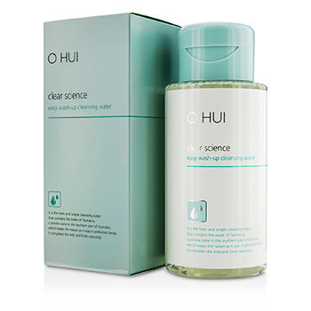 O HUI CLEAR SCIENCE EASY WASH-UP CLEANSING WATER 300ML/10.14OZ