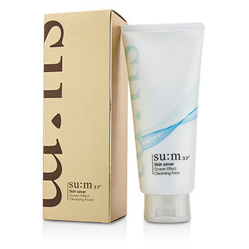SU:M37 SKIN SAVER OCEAN EFFECT CLEANSING FOAM 200ML/6.76OZ