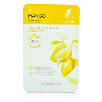 THE FACE SHOP MANGO SEED MOISTURIZING MASK SHEET 10X23ML/0.77OZ