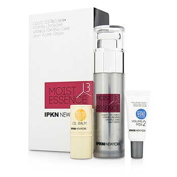 IPKN NEW YORK MOIST 3 CUBE KIT: FIRMING ESSENCE + VOLUME MIX 2 + OIL BALM 3PCS