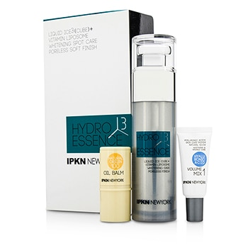 IPKN NEW YORK HYDRO 3 CUBE KIT: PORELESS ESSENCE + VOLUME MIX 1 + OIL BALM 3PCS