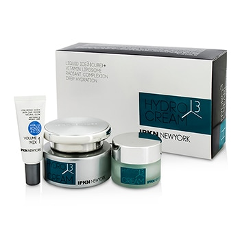 IPKN NEW YORK HYDRO 3 CUBE CREAM KIT: HYDRO 3 CUBE CREAM 50G + HYDRO 3 CUBE CREAM 20G + VOLUME MIX1 5G 3PCS