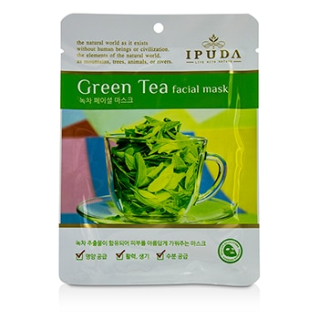 IPUDA FACIAL MASK - GREEN TEA 10X25ML