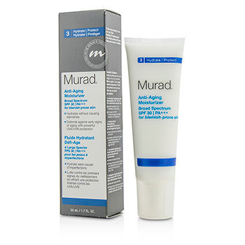 MURAD ANTI AGING MOISTURIZER SPF30 PA+++ - FOR BLEMISH-PRONE SKIN 50ML/1.7OZ
