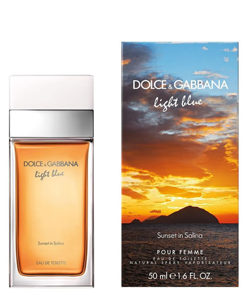 D&G DOLCE & GABBANA LIGHT BLUE SUNSET IN SALINA EDT FOR WOMEN