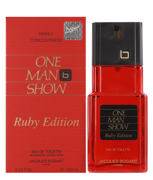 JACQUES BOGART ONE MAN SHOW RUBY EDITION EDT FOR MEN