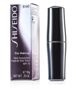 SHISEIDO THE MAKEUP STICK FOUNDATION SPF15 - B60 NATURAL DEEP BEIGE 10G/0.35OZ