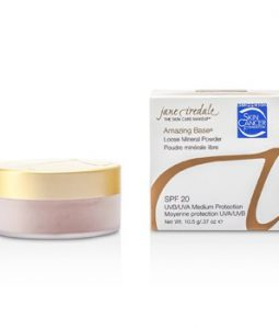 JANE IREDALE AMAZING BASE LOOSE MINERAL POWDER SPF 20 - NATURAL 10.5G/0.37OZ
