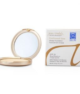 JANE IREDALE PUREPRESSED BASE PRESSED MINERAL POWDER SPF 20 - AMBER 9.9G/0.35OZ