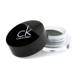 CALVIN KLEIN TEMPTING GLIMMER SHEER CREME EYESHADOW (NEW PACKAGING) - #310 VINYL BLACK (UNBOXED) 2.5G/0.08OZ