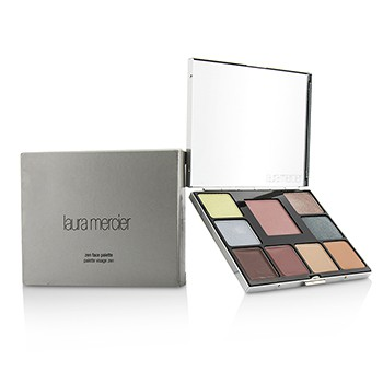 LAURA MERCIER ZEN FACE PALETTE: 4X EYE COLOUR + CHEEK COLOUR + 4X LIP GLAZE (BOX SLIGHTLY DAMAGED) 13.8G/0.43OZ