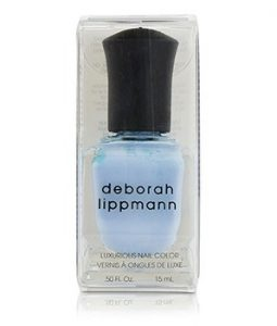 DEBORAH LIPPMANN LUXURIOUS NAIL COLOR - BLUE ORCHID (BLOSSOMING BABY BLUE CREME) 15ML/0.5OZ
