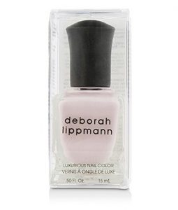 DEBORAH LIPPMANN LUXURIOUS NAIL COLOR - CHANTILLY LACE (SHEER IRIDESCENT PINK SHIMMER) 15ML/0.5OZ