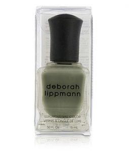 DEBORAH LIPPMANN LUXURIOUS NAIL COLOR - DESERT MOON (FULL COVERAGE PEBBLE GREY CREME) 15ML/0.5OZ