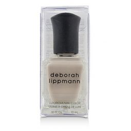 DEBORAH LIPPMANN LUXURIOUS NAIL COLOR - LIKE DREAMERS DO (PALE BISQUE SHEER) 15ML/0.5OZ